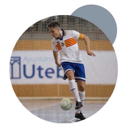 Diego Pardo Díaz Subcampeon España sub19 con la selección aragonesa 17/18